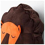ДЬЮНГЕЛЬСКОГ Подушка, лев, коричневый, фото 3