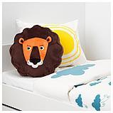 ДЬЮНГЕЛЬСКОГ Подушка, лев, коричневый, фото 4