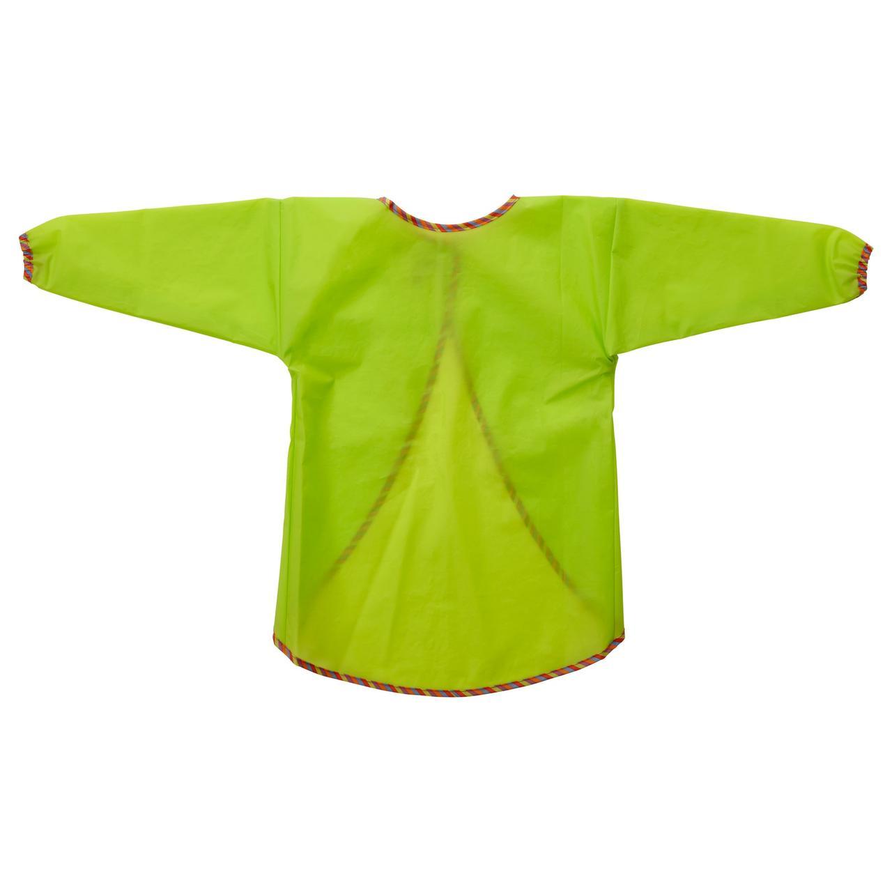 МОЛА Фартук с длинными рукавами, зеленый