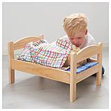 ДУКТИГ Куколн кровать с компл пост белья, сосна, разноцветный, фото 2