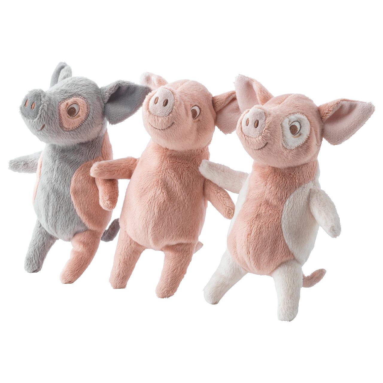 КЕЛГРИС Мягкая игрушка, поросенок различные модели