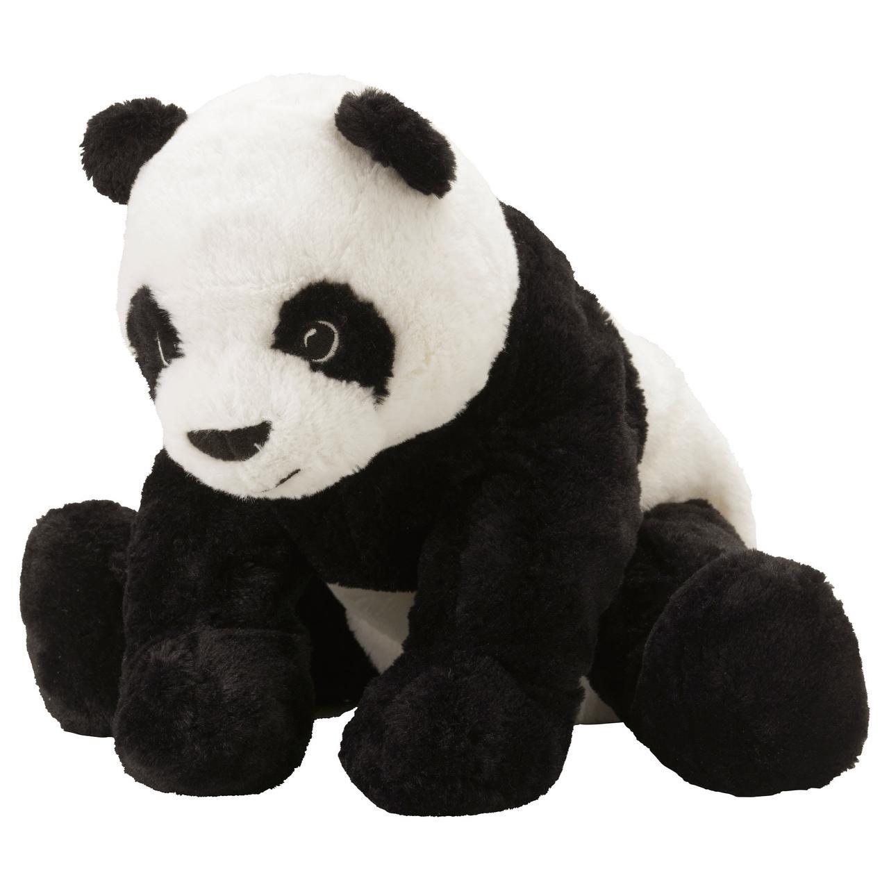 КРАМИГ Мягкая игрушка, белый, черный