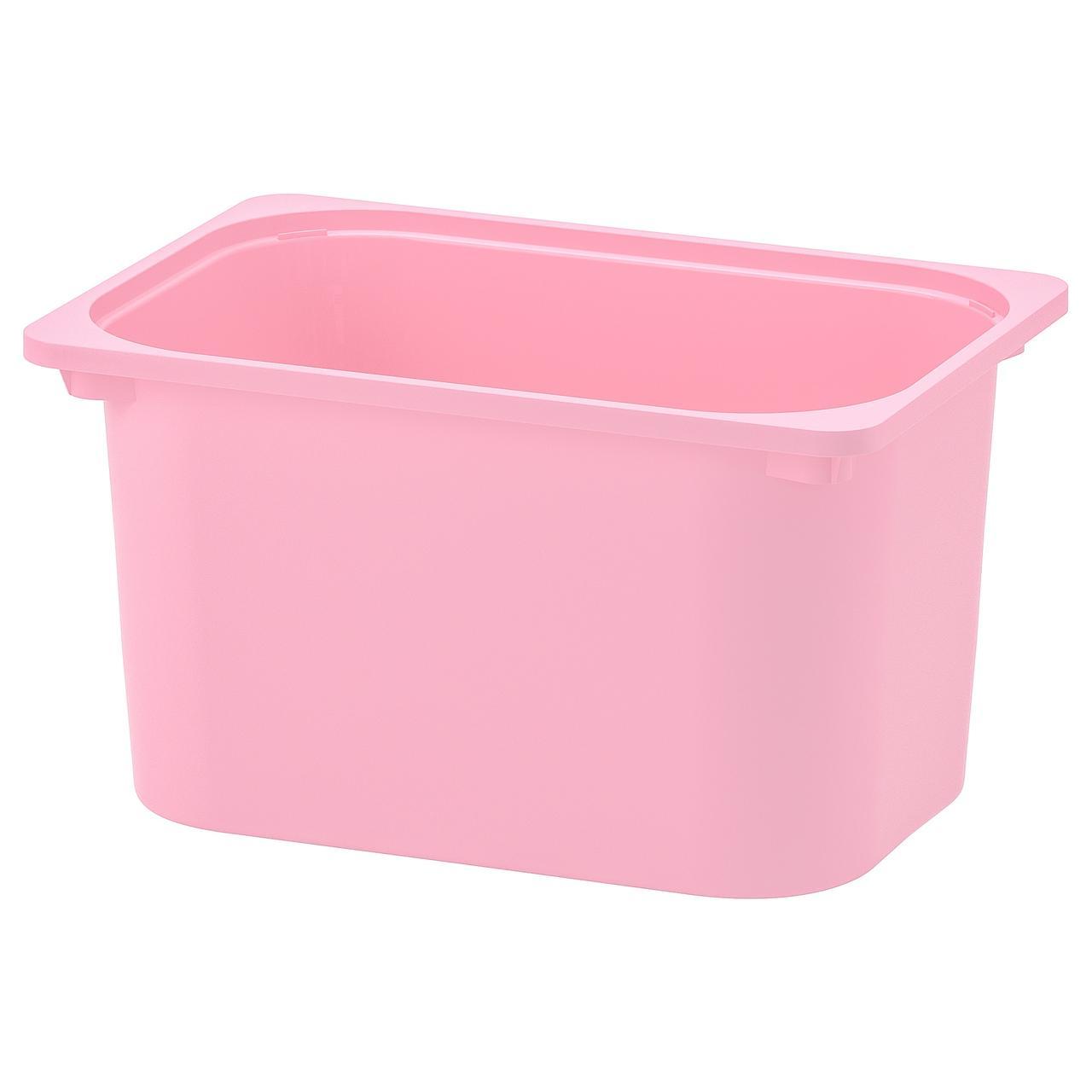 ТРУФАСТ Контейнер, розовый
