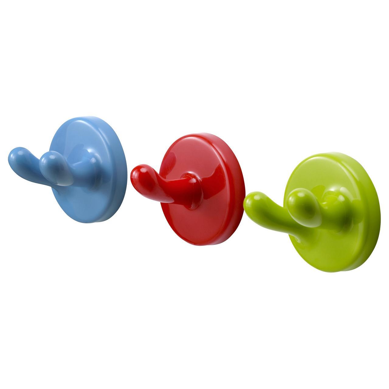 КРОКИГ Стенной крюк, разноцветный