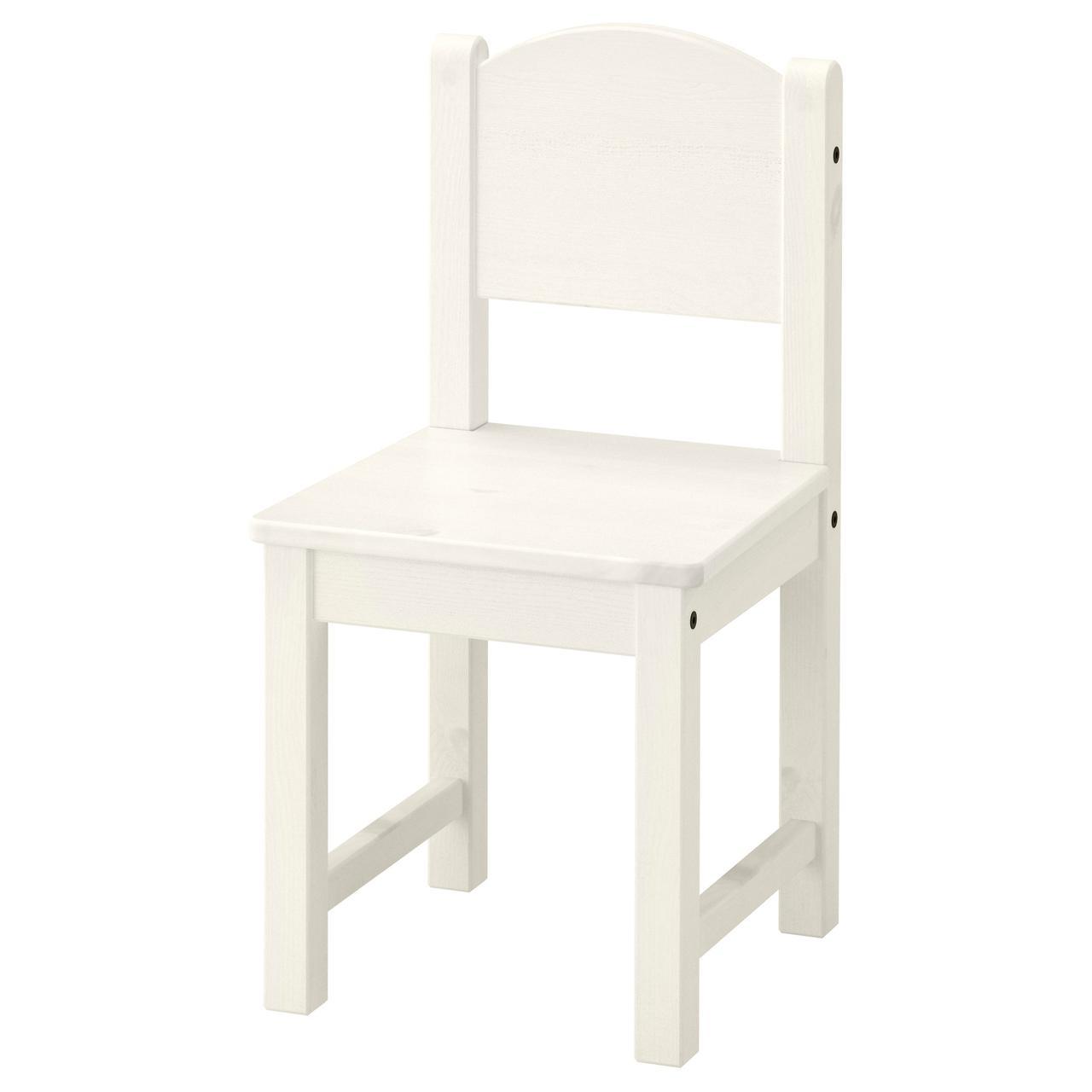 СУНДВИК Детский стул, белый
