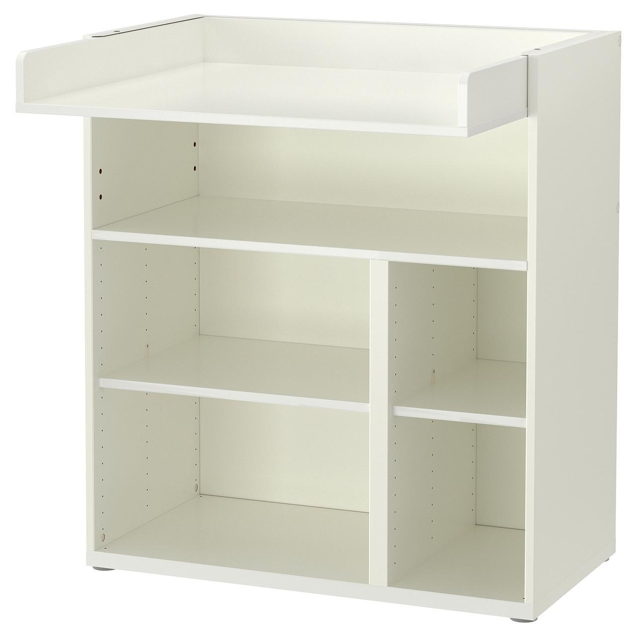 СТУВА Пеленальный/письменный стол, белый