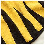 ДЬЮНГЕЛЬСКОГ Полотенце с капюшоном, тигр, желтый, фото 2