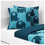 ДЬЮНГЕЛЬСКОГ Подушка, обезьянка, синий, фото 3
