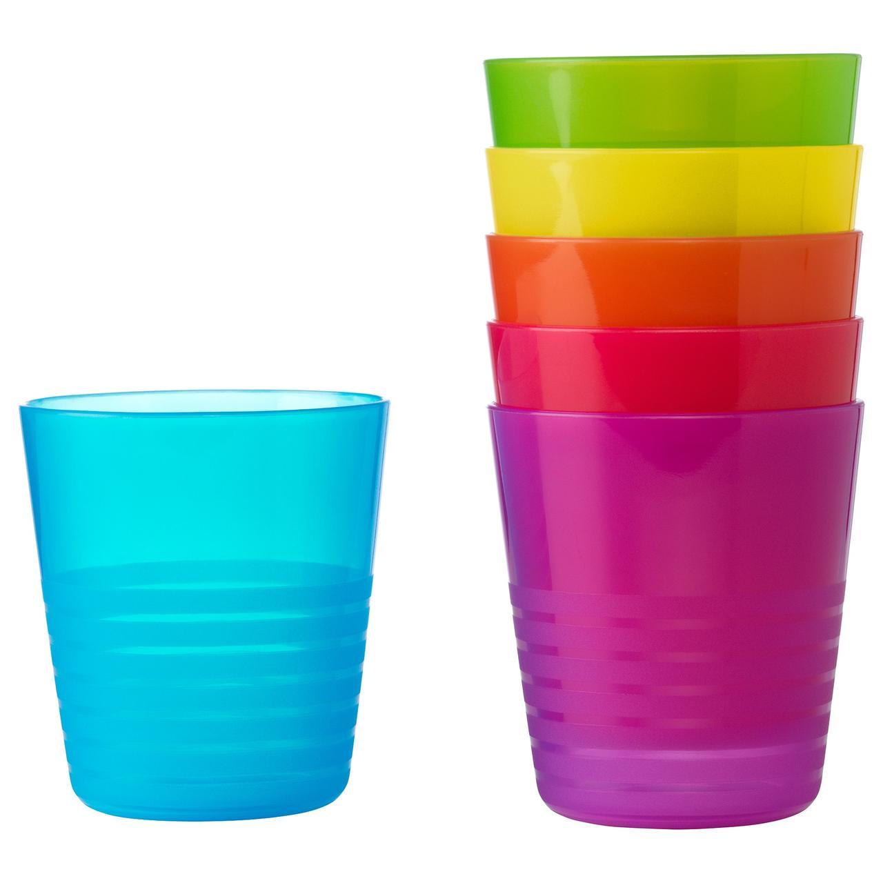 КАЛАС Стакан, разные цвета разные цвета