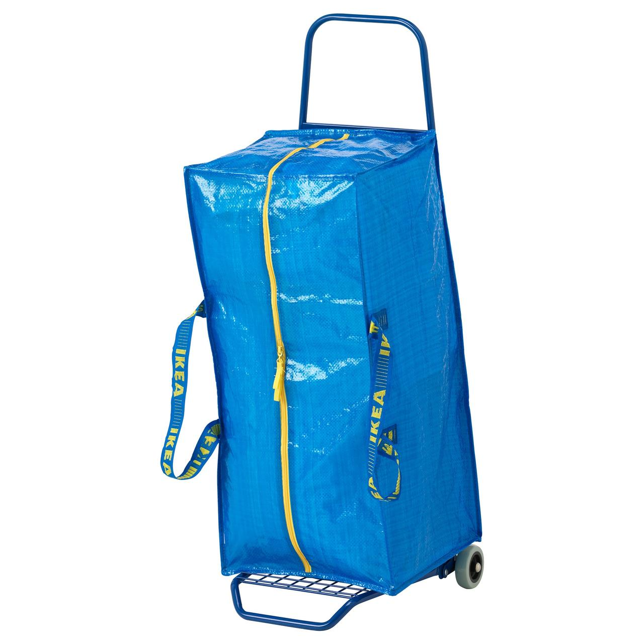ФРАКТА Тележка с сумкой, синий