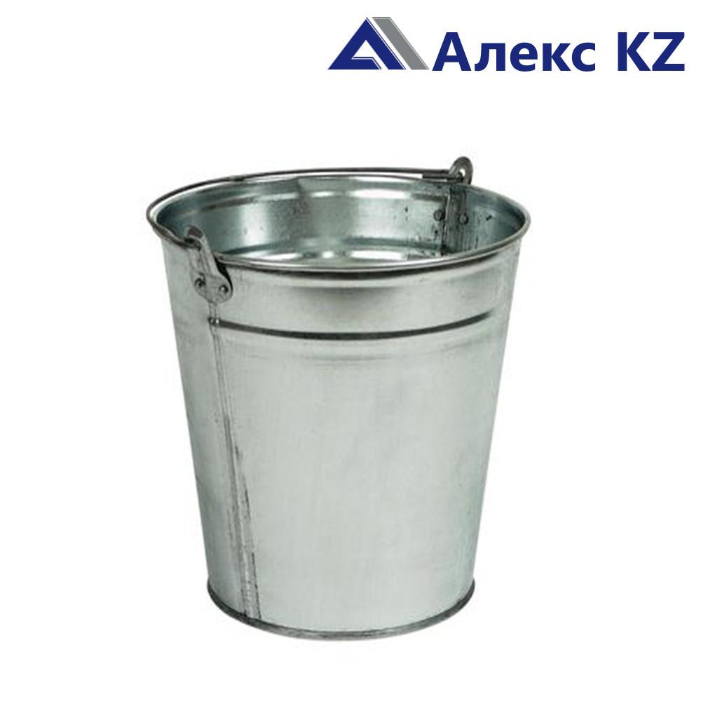 Ведро оцинкованное 15 литров (производство: г.Темиртау)