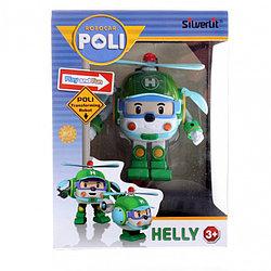Robocar Poli Робот-трансформер - Хэли, 10 см. Робокар Поли