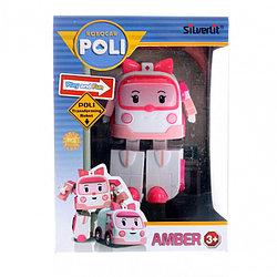 Robocar Poli Робот-трансформер - Эмбер, 10 см. Робокар Поли