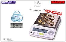 Весы лабораторные электронные TX2202L, НПВ 2200г, d=0,01г; внешняя калибровка; платформа d-167х181 мм