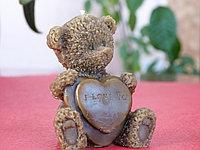 Свеча «Медвежонок с сердцем»