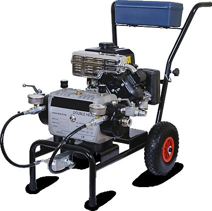 Окрасочный аппарат с бензиновым приводом EVOX-2200PE DH