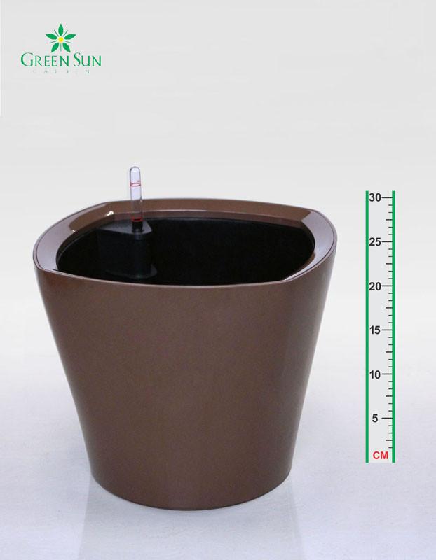 Фигурный горшок для цветов 35х30cmH