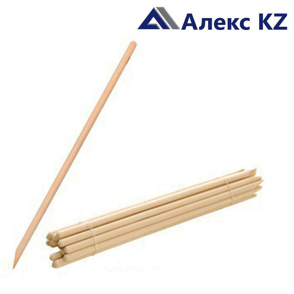 Деревянный черенок для лопаты d40/1200, 1 сорт (береза)