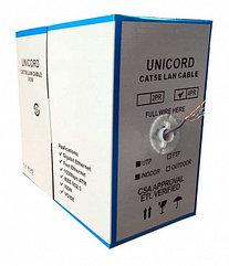 Кабель витая пара UNICORD КСВПВ UTP 4*2*0,52, Cat 5e, Cu, 305 м