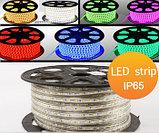 Ленты светодиодные 220 в. В ПВХ оболочке  LED лента SMD 5050. 9 цветов, фото 4