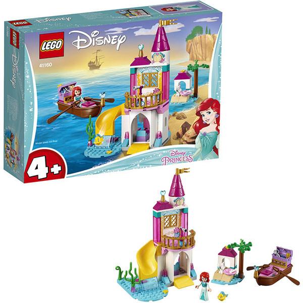 Лего Принцессы Дисней Lego Disney Princess 41160 Конструктор Морской замок Ариэль