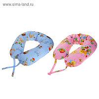 Подушка АДАМАС ОБЛАКО для беременных, размер 35х190 см, холлофайбер, чехол МИКС