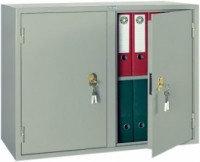 Металлический бухгалтерский шкаф КБС-09, две секции