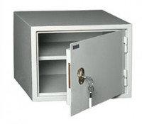 Металлический бухгалтерский шкаф КБС-02, одна секция