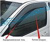 Дефлекторы боковых окон (ветровики) на Ford Ranger/Форд Рэнжер 2011-