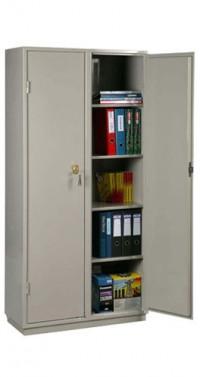 Металлический бухгалтерский шкаф КБС-10