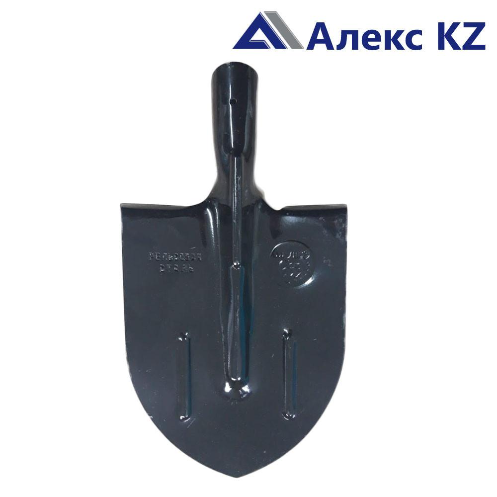 Лопата штыковая, стальная 65 Г , МЛШЗ, черная