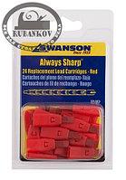 Грифели для карандаша Swanson Always Sharp, цветные