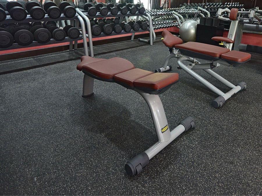 Резиновое покрытие для тренажерных и фитнес залов