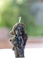 Свеча « Ангел с медвежонком»