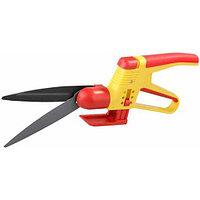 Ножницы GRINDA для стрижки травы, 2-х комп пластмас ручки с защитой,поворот мех-м 180гр, 360мм