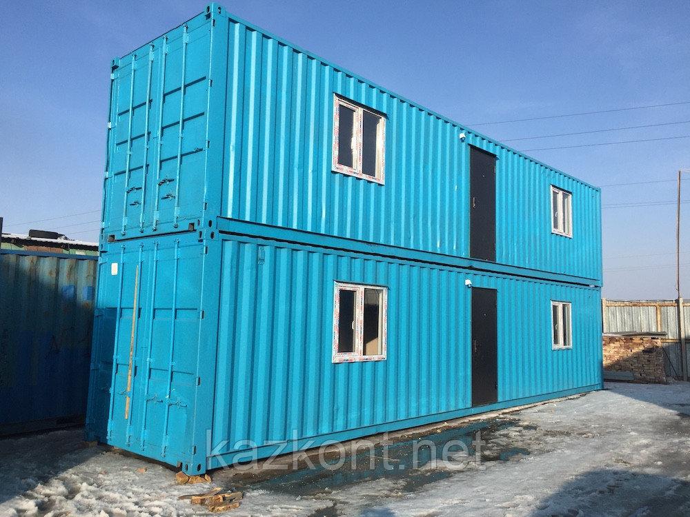 Вагончик, блок-модуль, Контейнер 40 ф жилой, бытовка, жилой дом из контейнеров