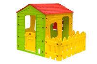 """Детский игровой домик """"Веселая ферма"""" с террасой Starplast"""