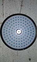 Лейка потолочная круглая синяя № 25