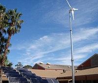 Автономная гибридная (ветро-солнечная) электростанция на 13 кВт/час (10 кВт/час - ВЭС и 3 кВт/час - СЭС), фото 1