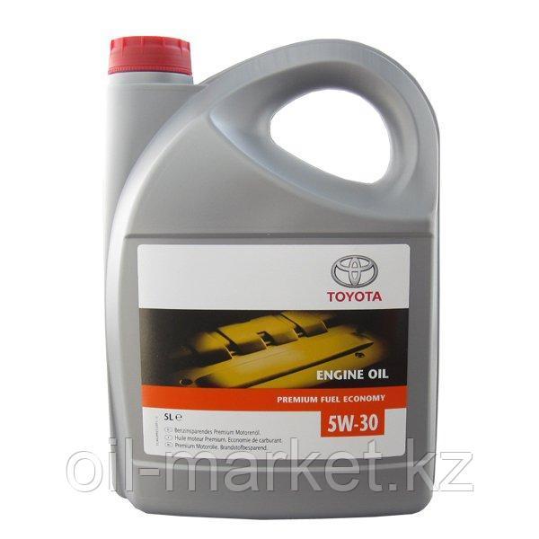 Моторное масло Тойота / TOYOTA Engine Oil Premium Fuel Economy SAE 5W-30 5L