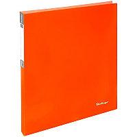 """Папка 2 кольца 2,5см Berlingo """"Neon"""" оранжевая # 22804"""