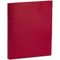 Папка 2 кольца 2,5см OfficeSpace красная # 20333