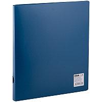 Папка на 2-х кольцах OfficeSpace, 40мм, 500мкм, синяя 20339