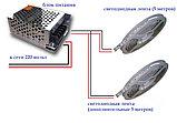 Светодиодная лента SMD 5050, 12v герметичная 60 диодов/метр Цвет: Белый,зеленый,красный,синий,желтый, фото 4