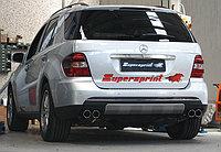 Выхлопная система Supersprint на Mercedes-Benz ML W164