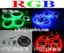 Светодиодная лента SMD 5050, RGB 12v герметичная 60 диодов/метр