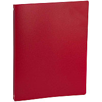 Папка 4 кольца 2,5см OfficeSpace, 500мкм, красная ПН4К_16257