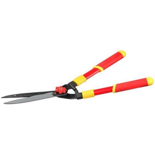 Кусторез GRINDA, стальные ручки, профильные лезвия с тефлоновым покрытием, 571мм