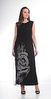 Платье Диамант-1183, черный, 54