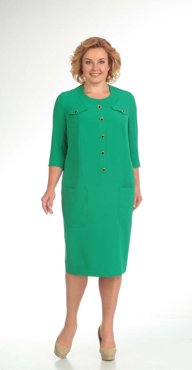Платье Novella Sharm-2782, зеленый, 62